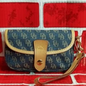 DOONEY & BOURKE  BLUE SIGNATURE WRISTLET